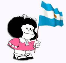 Mafalda bandera